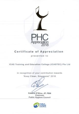 PHC Cert 2018