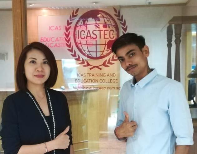 Testimonials – ICAS Training & Education College Pte Ltd